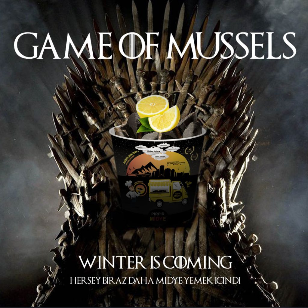 game of mussels Bursa Midyeci